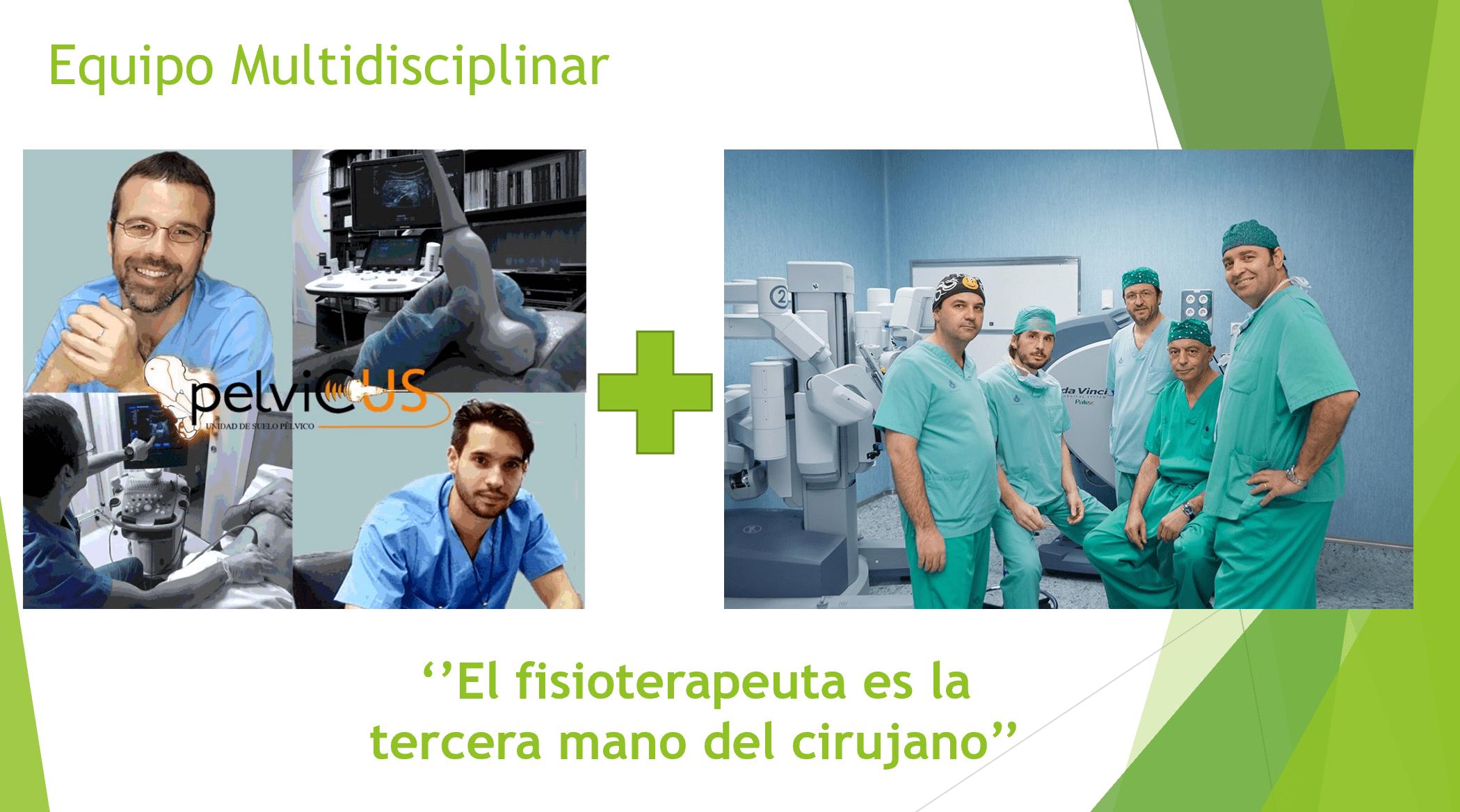 servicio de urología del Hospital San Rafael equipo multidisciplinar